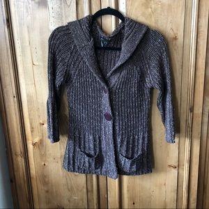 BCBG Maxazria Cardigan Sweater - Med.
